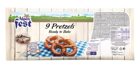 Product Review: Ready to bake pretzels Lidl