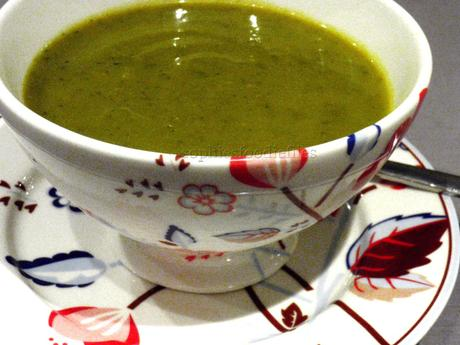 Spiced Veggie Soup from our garden! ;)