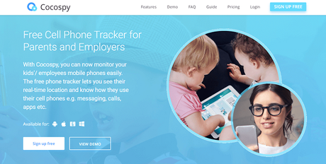 Cocospy Review: Free Cell Phone Tracker for Parents and Employers