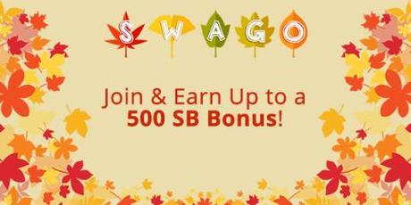 Image: The digital rewards site Swagbucks is offering big payouts during on their September Swago Board, which runs from September 10th through September 17th at 9am PT!