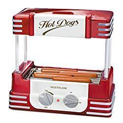 Image: Nostalgia Hot Dog Roller and Bun Warmer