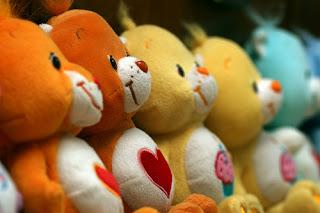 Care Bears line up, by John Trainor on Flickr