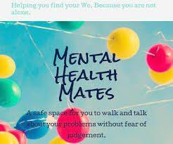 Creativity and Patience; and walks with Mental Health Mates