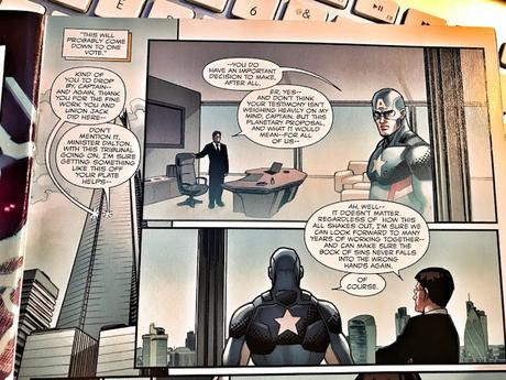 Looking For Captain America In London – Part Two