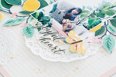 Maggie Holmes Design Team : Joyful Heart