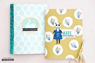 Crate Paper Design Team : Mini Notebooks