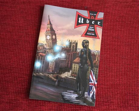 Cartoon & Comic Book London: WWII Alt History Über