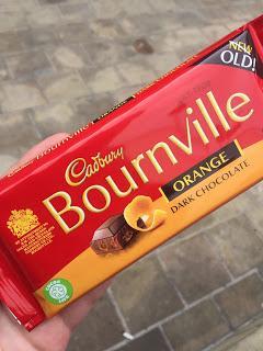 New/Old Cadbury Bournville Orange Dark Chocolate