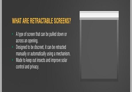 Retractable Screens 101: Get to Know Your Options