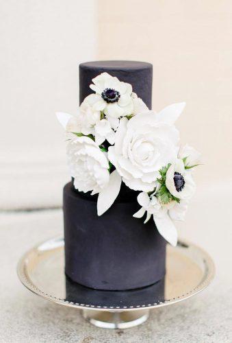 black wedding cake small cake for wedding kate elizabeth photography