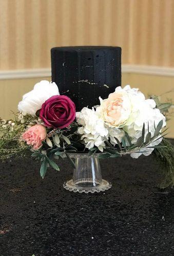 black wedding cake small black cake cakesbysimone