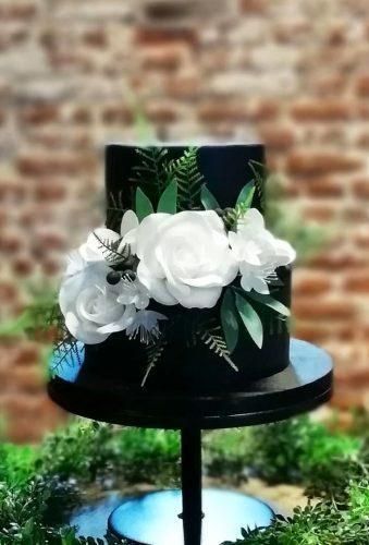 black wedding cake small wedding cake crumbstocreations