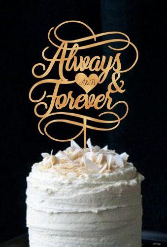vintage wedding cake toppers always and forever bestweddever