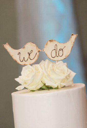 vintage wedding cake toppers charming birds RusticDarlingCottage
