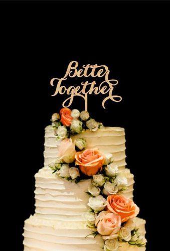 vintage wedding cake toppers letter cake topper HolidayCakeTopper