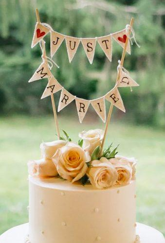 vintage wedding cake toppers just mirred sign 52Forty Photography
