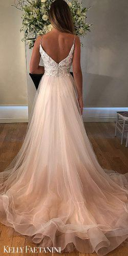 kelly faetanini wedding dresses bare spaghetti natural star blush