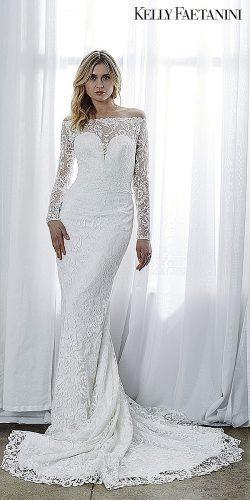 kelly faetanini 2019 wedding dresses long sleevs bridal gown lace wedding dress kelly faetanini eva