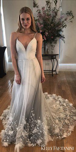 kelly faetanini 2019 wedding dresses lace balgown dress gray wedding dress Penelope