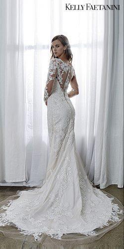 kelly faetanini 2019 wedding dresses long sleev wedding dress lace gown kelly faetanini elisa