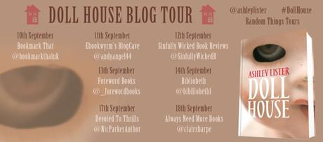 Blog Tour – Doll House by Ashley Lister