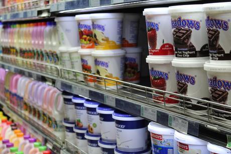 Yogurt Refrigerated Products Food Market Supermarket