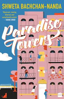 Paradise Towers by Shweta Bachchan-Nanda Cover Reval