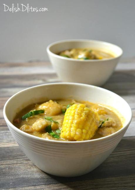 Sancocho De Pollo (Puerto Rican Chicken Stew)