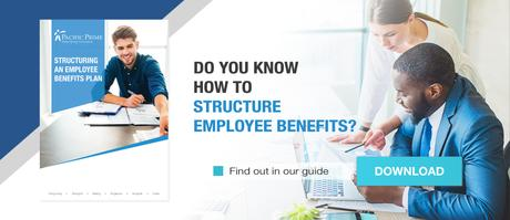 What is an employee benefits market review?