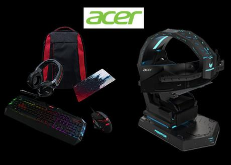 Acer Predator Thronos Game Chair and Nitro Gadgets
