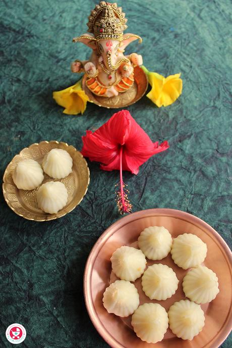 Enjoy this Ganesh Chaturthi day with the deliciously made Suji Modak, Rava Modak. It's an easy to make recipe, which is scrumptious and rich in taste.