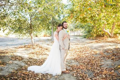 Rustic and Robin's Egg Blue California Barn Wedding