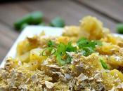 Green Chile Potato Casserole (Vegan Funeral Potatoes)
