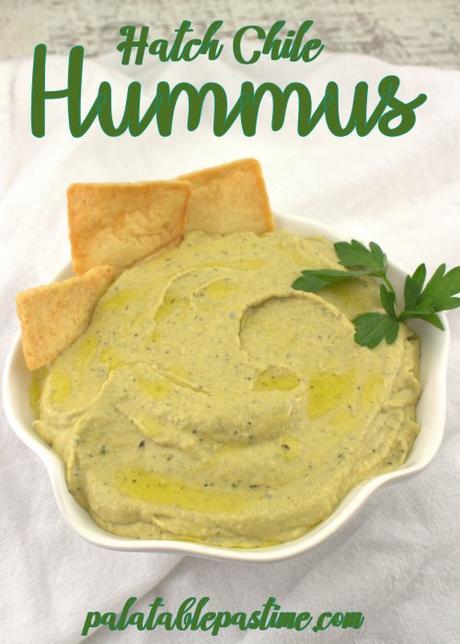 Hatch Chile Hummus