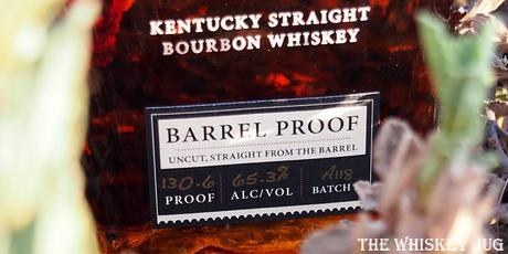 Elijah Craig Barrel Proof Batch A118 Label