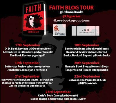 Faith by Chris Parker- Feature + Exclusive Excerpt