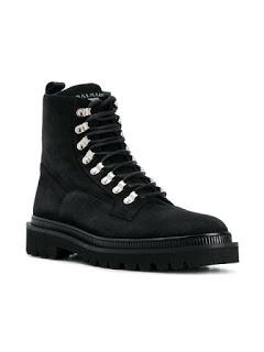 Shaft Appeal:   Balmain Lace-Up Boots