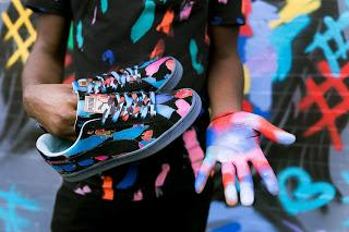 From His Palette To Your Feet:  Puma X Bradley Theodore Suede 50 Sneaker