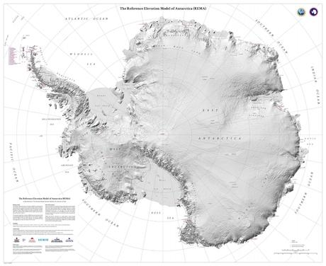 Researchers Create Most Detailed Map of Antarctica Ever