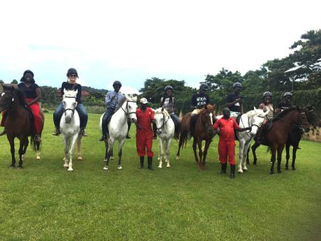 Back in the saddle – horseplay at Speke Equestrian Centre