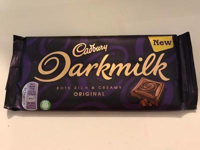 Today's Review: Cadbury Darkmilk