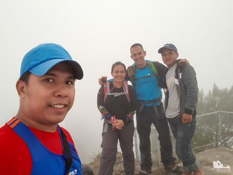 Foggy Mt. Lubo summit