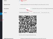 Google Factor Authentication WordPress