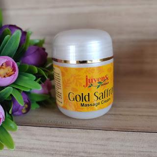 Juvena Herbals Gold Saffron Massage Cream Review