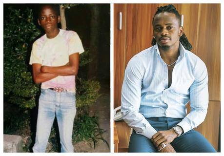 Diamond Platnumz recounts his days as a petrol pump attendant (Photo)