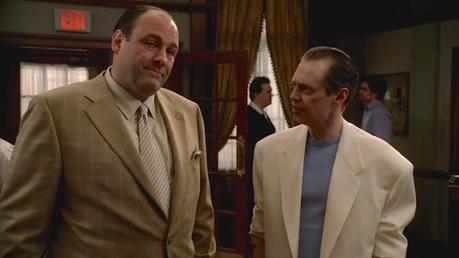 Tony Soprano's Tan Windowpane Sport Jacket