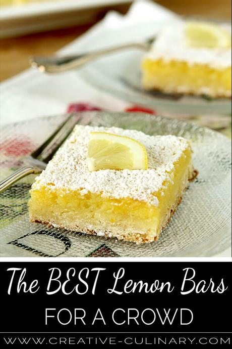The Best Lemon Bars for a Crowd