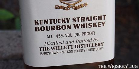 Old Bardstown Kentucky Straight Bourbon Whiskey Label