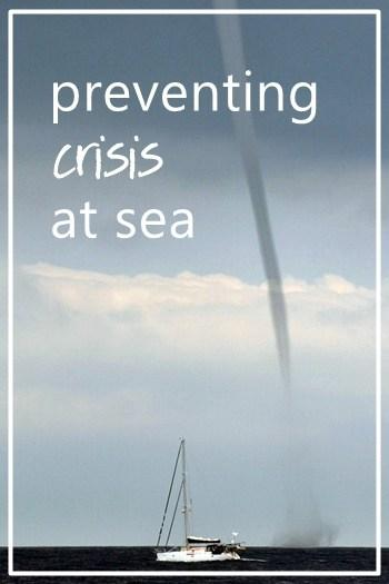 Cascading events: preventing crisis at sea
