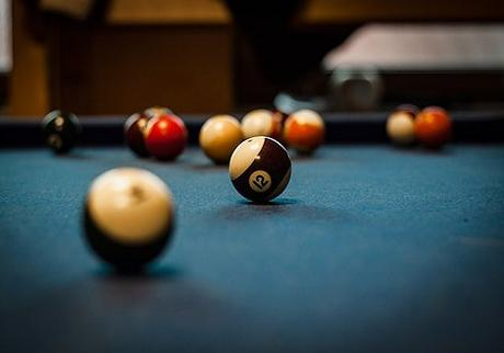 Repairs and removal of a pool table